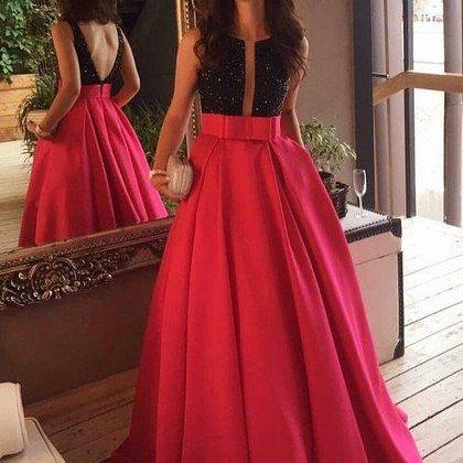Red and Black Prom Dresses, Formal ..