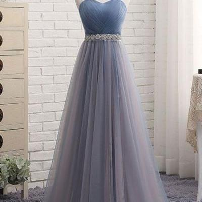 Tulle Prom Dresses, Formal Dresses, Graduation Party Dresses, Banquet Gowns