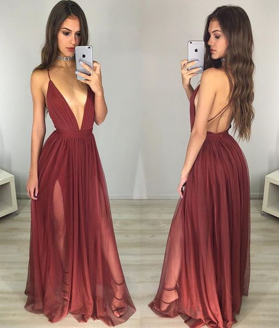 cb918b6fd6 Sexy Backless Prom Dress Long Evening Gowns Formal Dress For Teens