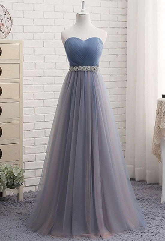 Tulle Prom Dresses, Formal Dresses, Graduation Party Dresses ...