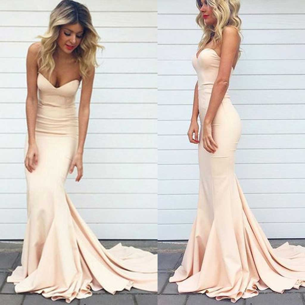 Fashion Mermaid Prom Dresses Prom Dress Evening Gown For Wedding ...