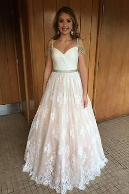 Off the Shoulder Lace and Beaded Prom Dresses, Formal Dresses, Graduation Party Dresses, Banquet Gowns