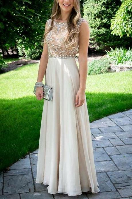 Beaded Prom Dresses, Wedding Party Dresses, Graduation Party Dresses