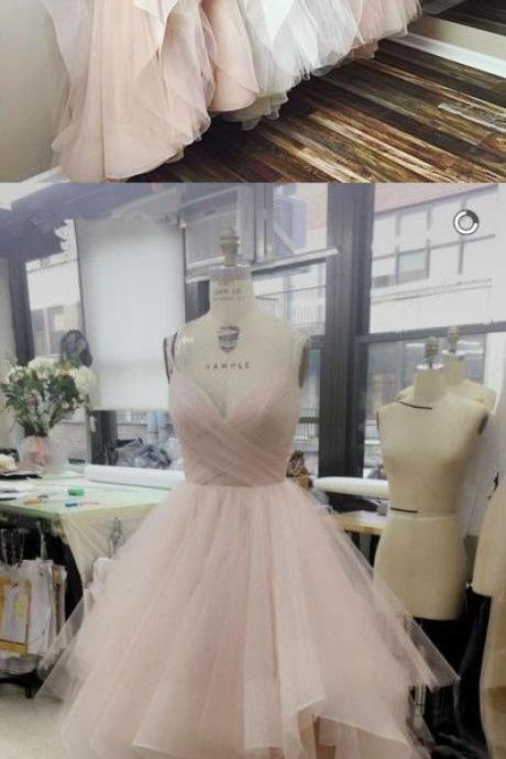 Tulle Prom Dresses, Formal Dresses, Graduation Party Dresses, Banquet Gown