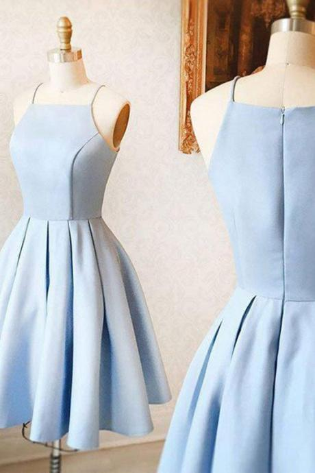 Homecoming Dresses with Spaghetti Straps, Formal Dresses, Graduation Party Dresses, Banquet Gown