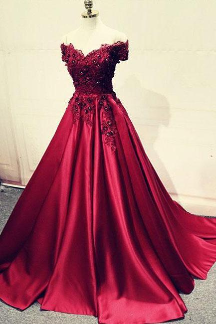 A-Line Prom Dresses, Sweet 16 Dress, Evening Dresses, Pageant Dresses, Graduation Party Dresses, Banquet Gown