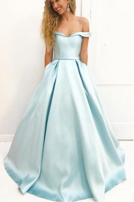 A-line Prom Dress, Sweet 16 Dress, Evening Dresses, Pageant Dresses, Graduation Party Dresses, Banquet Gown