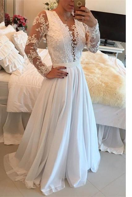 Long Evening Party Dress With Full Long Sleeves pst0499