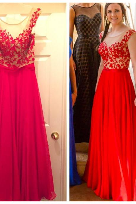 Red Prom Dresses Prom Dress Evening Gown For Wedding Party