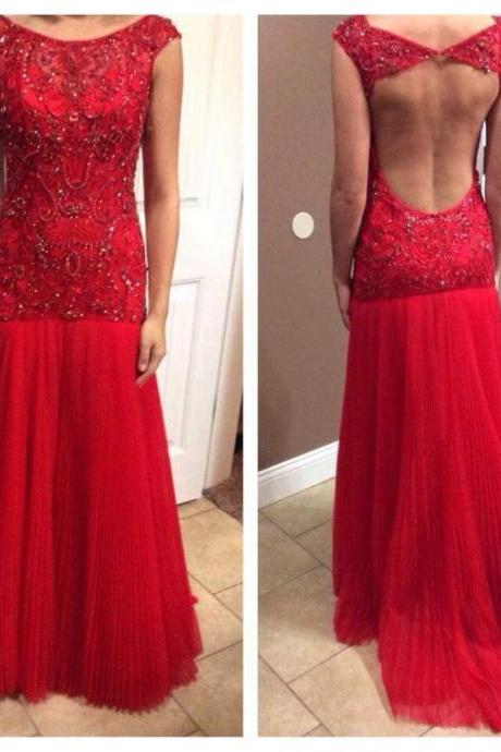 Fashion Backless Long Prom Dresses Prom Dress Evening Gown For Wedding Party